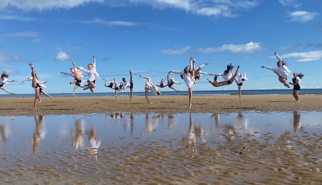Dancers Take Our Breath Away on Redcar Beach
