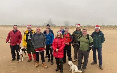 Christmas Walk with the Wounded