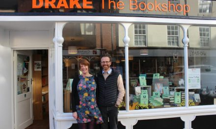 Drake the quirky bookstore is glad to re-open