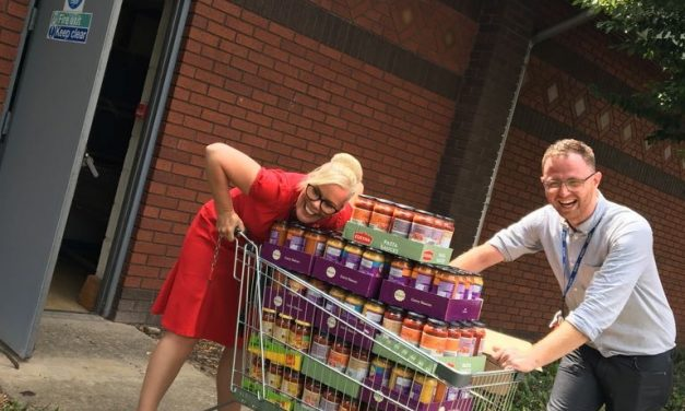 Happiness hampers could help end child poverty in Teesside