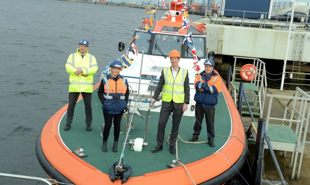 Teesport invests 1.35m in pilot vessel to support future trade growth on the River Tees