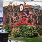 Ironstone mining mural to remember the war