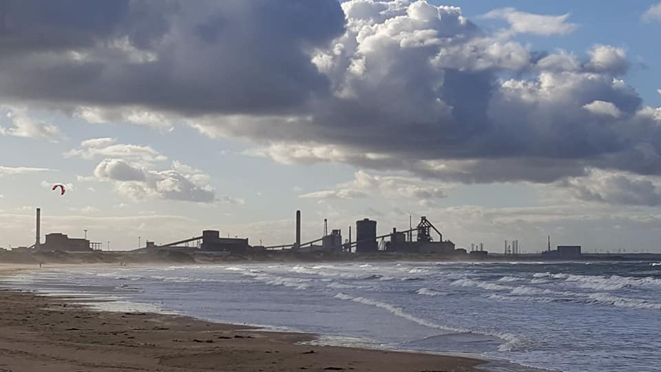 Redcar Blast Furnace is the most important industrial structure in the whole country
