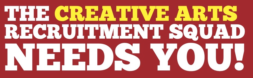 Get involved in the creative arts